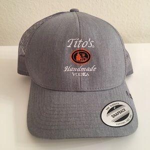 Tito's vodka hat- never worn